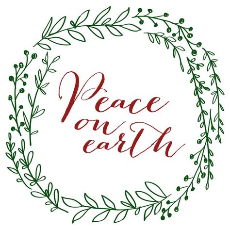 printable peace quotes 261 best images about christmas printables on pinterest