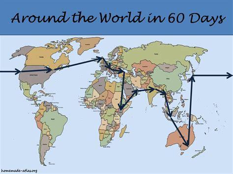 around the world in 60 days