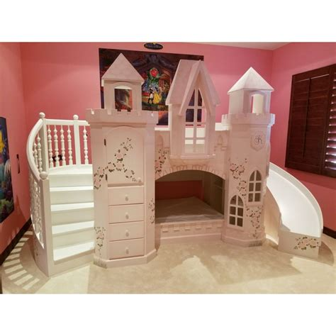 bunk bed castle castle vicari bunk bed themed beds by tanglewood design