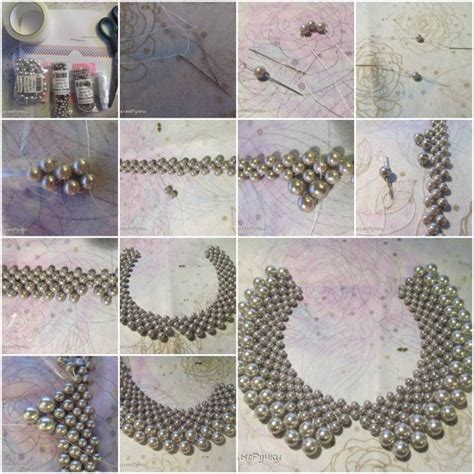 to make beautiful how to make beautiful beads or pearl necklaces step by