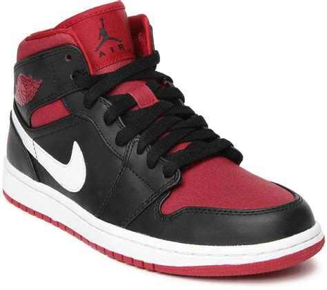 basketball shoes shopping india nike air 1 mid basketball shoes buy black