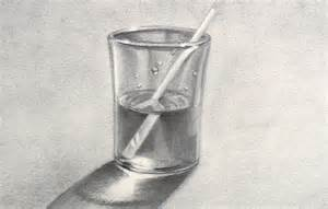 how to draw a glass of water youtube