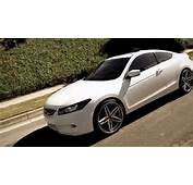 White Honda Accord On Some Nice 20 Lexani R 5 Wheels