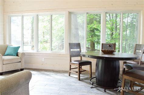 shiplap sunroom cottage sunroom reveal shiplap walls and decor