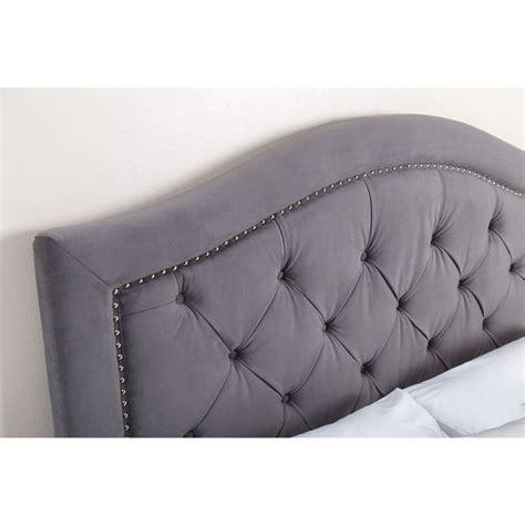 abbyson living hillsdale tufted grey velvet headboard 1000 ideas about king size headboard on pinterest