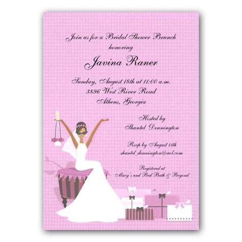 american wedding invitation wording invites for bridal shower american