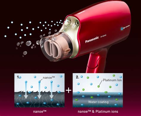 Hair Dryer Panasonic Eh Na45 panasonic eh na45 hair dryer white harvey norman singapore