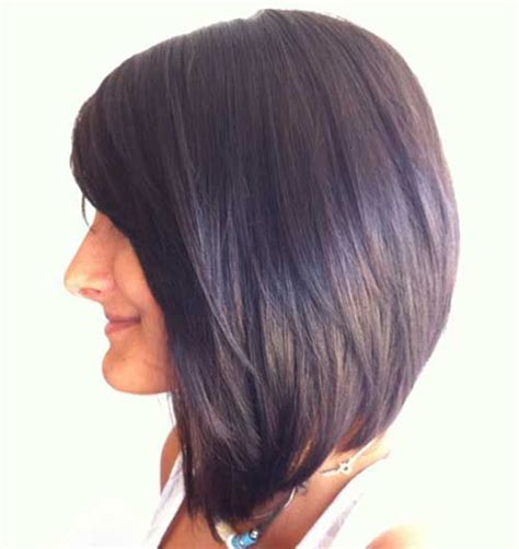 is there an angled layer lookfor short to medium hair 15 medium length bob with bangs bob hairstyles 2015