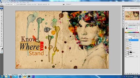 inkscape tutorial yt video photoshop watercolour effect tutorial by sharif
