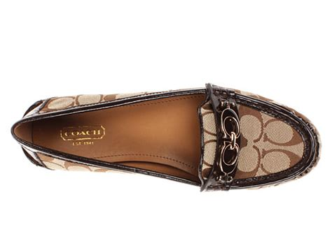 coach fortunata loafer black coach fortunata 6pm
