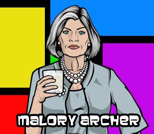 malory archer because i said so our favorite fictional moms geekynews