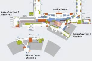 Zurich Airport Floor Plan by Site Plans Flughafen Z 252 Rich