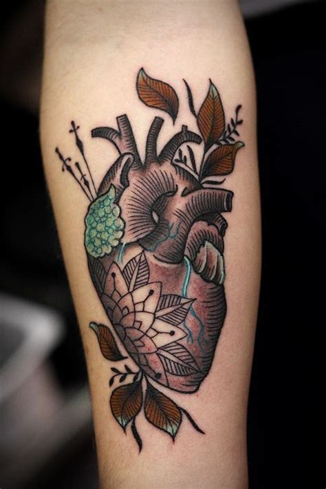 tattooed heart top nice heart tattoo best tattoo design ideas