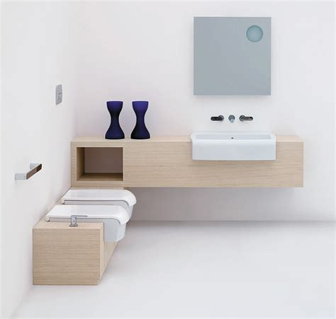 Bathroom Furniture Set Una Bathroom Furniture Set By Ceramica Flaminia Design Romano Adolini