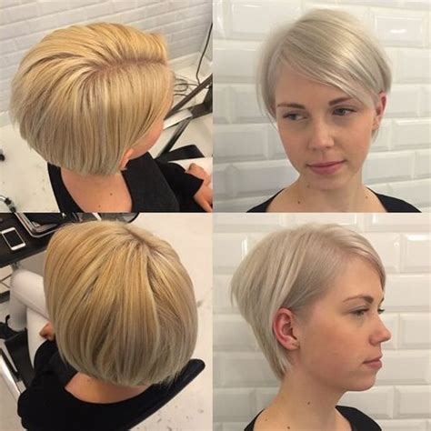 short stacked haircuts for fine hair that show front and back bob haircuts for fine hair long and short bob hairstyles
