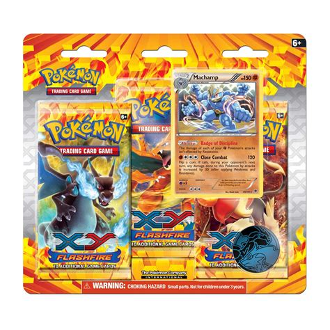 Figure Xy Flashfire mach 3 pack blister flashfire boosters trading