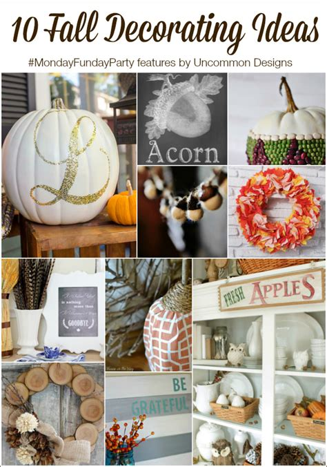 free fall decorating ideas monday funday 85 fall crafts c r a f t