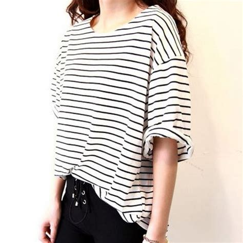 black and white t shirts for women 2017 artee shirt aliexpress com buy 2017 korean t shirt women summer