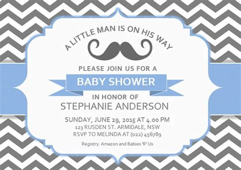 baby shower invitation template word free baby shower invitation templates for word
