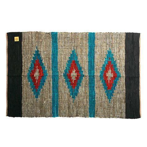 alfombra de cuero alfombra cuero irasema 120x180