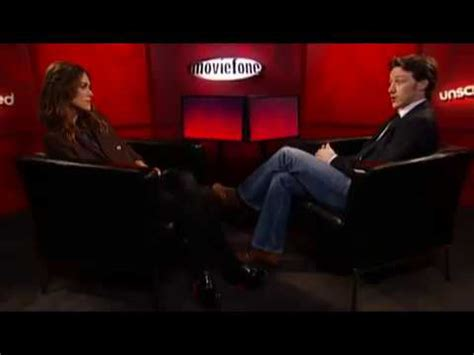 james mcavoy keira knightley interview atonement unscripted keira knightley james mcavoy