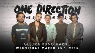 One direction 2015 tour indonesia 1dindo announcement youtube
