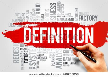 Definition Of The Word Definition Stock Photos Royalty Free Images Vectors