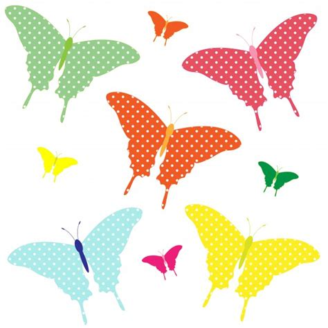 clipart farfalle farfalle colorate clipart immagine gratis domain