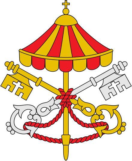 stemma santa sede lo stemma della santa sede durante la sede vacante