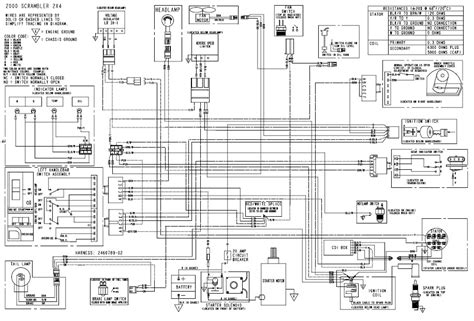 polaris sportsman 400 wiring diagram excellent polaris