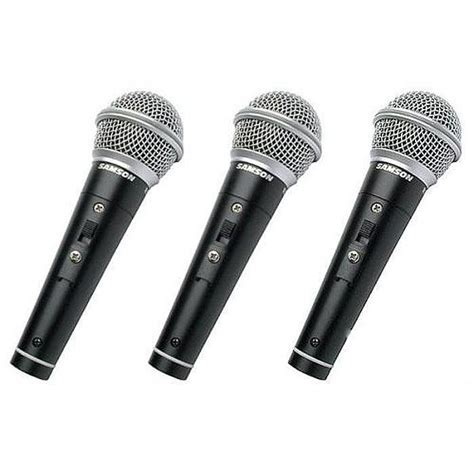 Microphone Samson R21s samson r21s vocal recording microphones with switch 3