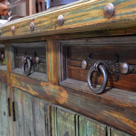 Kitchen Buffet Hutch Furniture by Rustic Cabinet Hardware Bail Pulls Iron Cabinet Pull