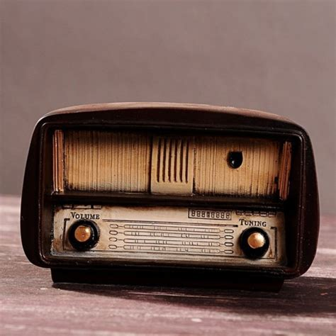 handicraft for home decoration mylifeunit vintage radio model retro radio handicraft for