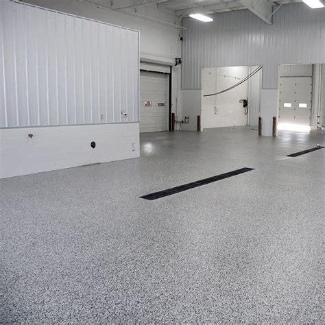 durable garage floor coating service bays  floor coating