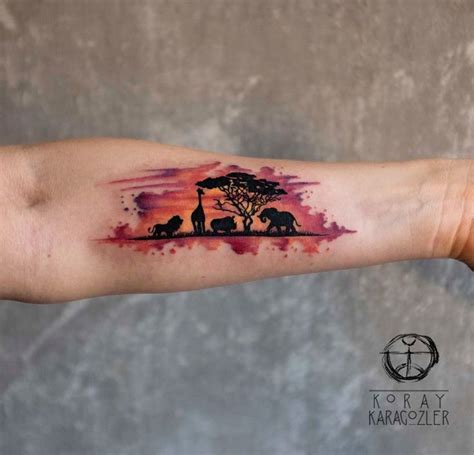 animal tattoo carnegie pa 25 smukke id 233 er inden for africa tattoos p 229 pinterest