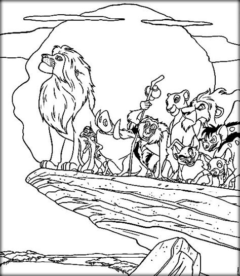 lion king coloring pages online game disney lion king coloring pages to print color zini