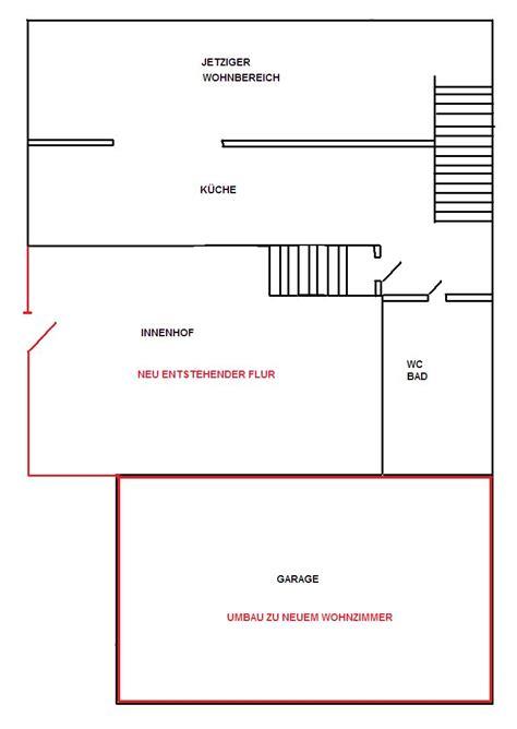 Umbau Garage Wohnraum by Garage Umbauen Und Wohnraum Vergr 214 Ssern