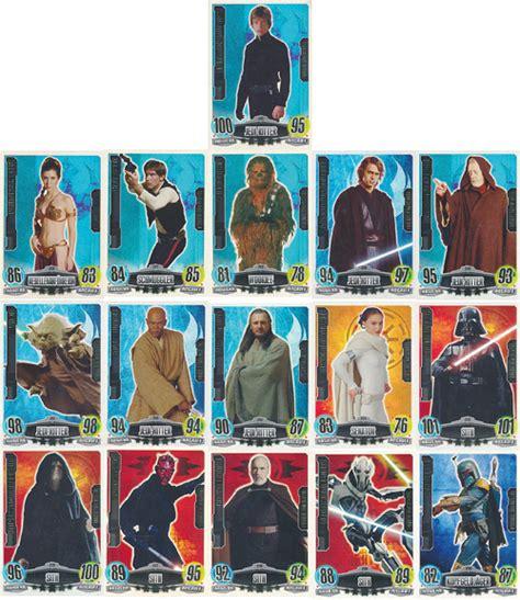 Star Wars Movie Gift Card - star wars force attax movie cards forcemeister aussuchen 225 240 ebay