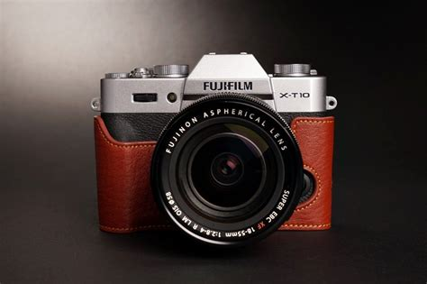 Fujifilm Xt20 F2 8 genuine real leather half bag cover for