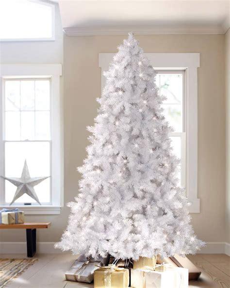 winter white artificial christmas tree treetopia