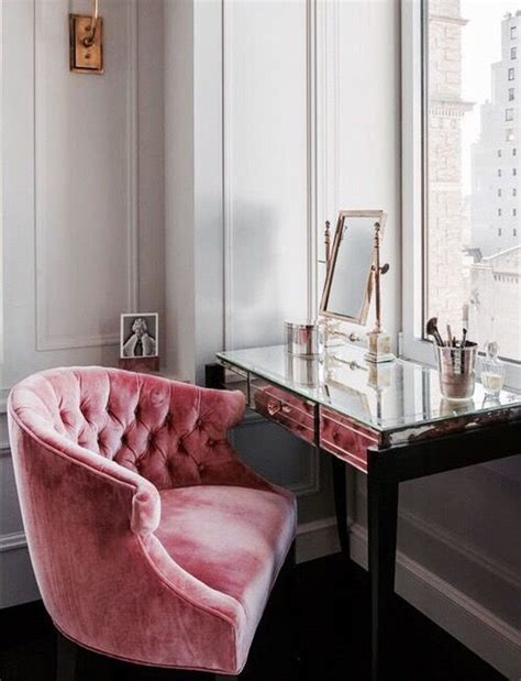 pink tufted desk chair pink velvet chairs and velvet on