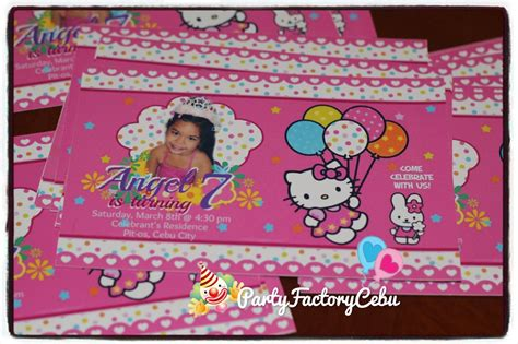 Hello Kitty Th  Ee  Birthday Ee   Invitation