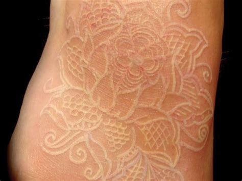 white tattoo flower designs chipless fashion