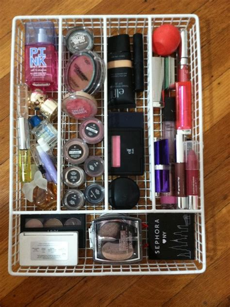 Organizing Makeup Drawers by How To Organize Makeup And Avoid A Major Argument Popcosmo