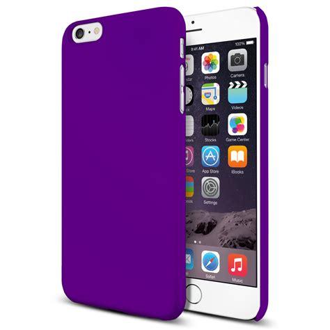 polysnap hard case  apple iphone   purple