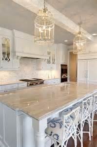 gray and white granite countertops transitional