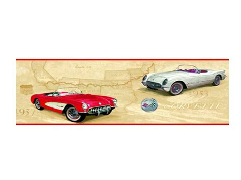 corvette wallpaper border corvette wallpaper border gm route 66 eb9028b american