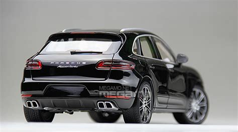porsche macan all black 1 18 minichs porsche macan turbo 2013 black white