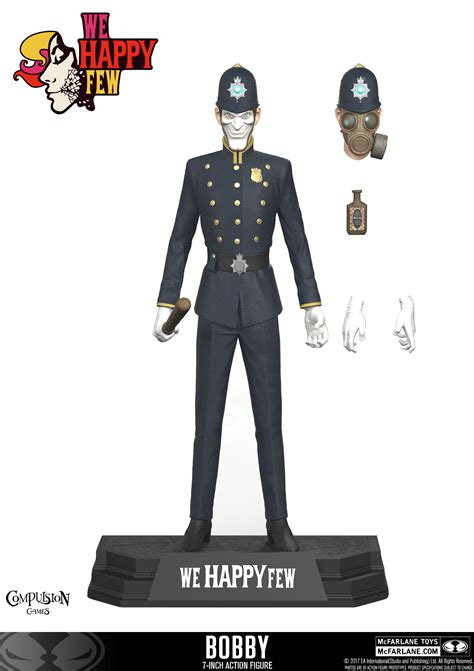 figure 7 inch mcfarlane toys we happy few bobby 7 inch figure the