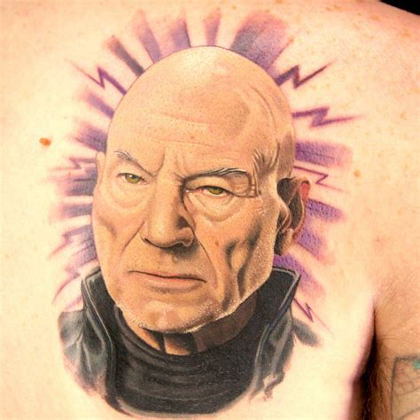 tattoo master stewart professor x by sausage on an